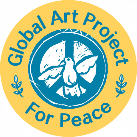 Global Art Project For Peace (logo)